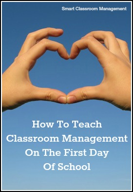 How To Teach Classroom Management On The First Day Of School