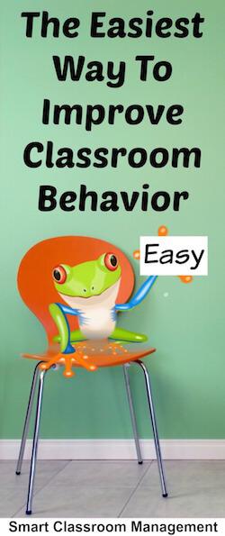 The Easiest Way To Improve Classroom Behavior