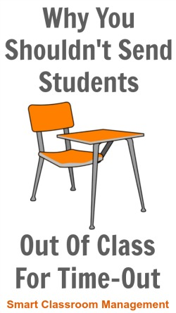 Smart Classroom Management: Why You Shouldn't Send Students Out Of Class For Time-Out